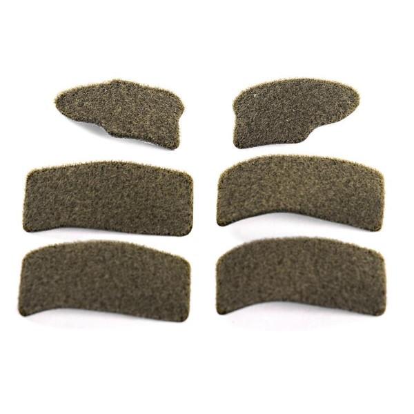 BUSCH CAP-1 Flauschflächensatz für Helmbezug