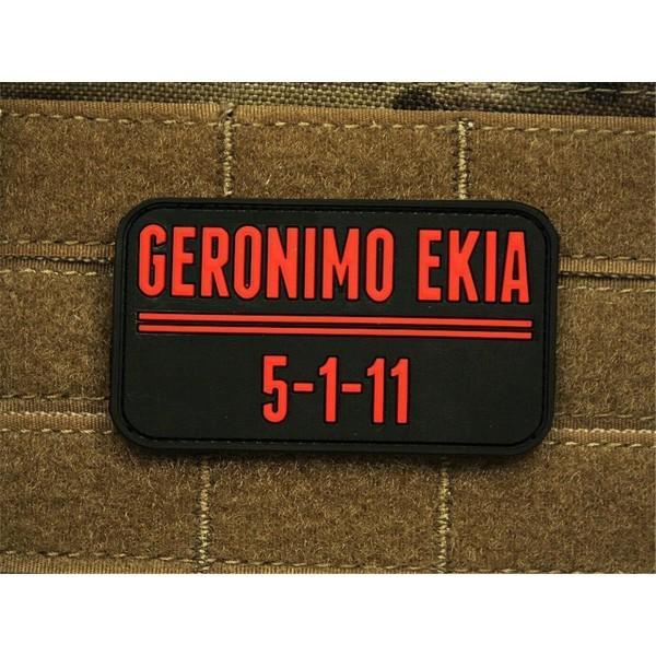 JTG - Geronimo Ekia patch