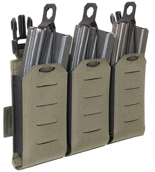 Warrior Assault Systems Laser Cut Detachable Triple 5.56mm Mag Pouch Magazintasche