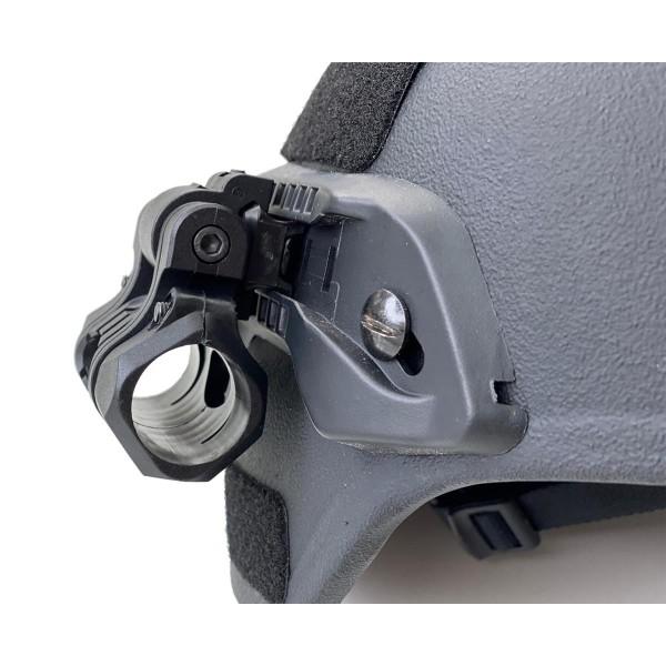 SKYLL M350 Flashlight Helmet Holder für Gefechtshelm Rails